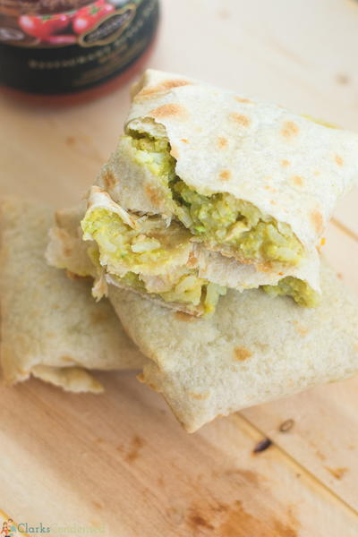 Baked Chicken Avocado Chimichanga Recipe