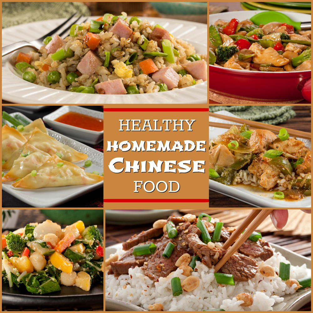Chinisse Food: Healthy Homemade Chinese Food: 8 Easy Asian Recipes