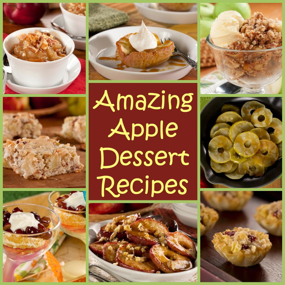 8 Amazing Apple Dessert Recipes