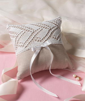 Elegant Ring Bearer's Pillow