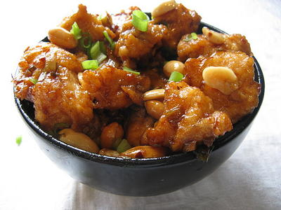 PF Changs Kung Pao Chicken Copycat