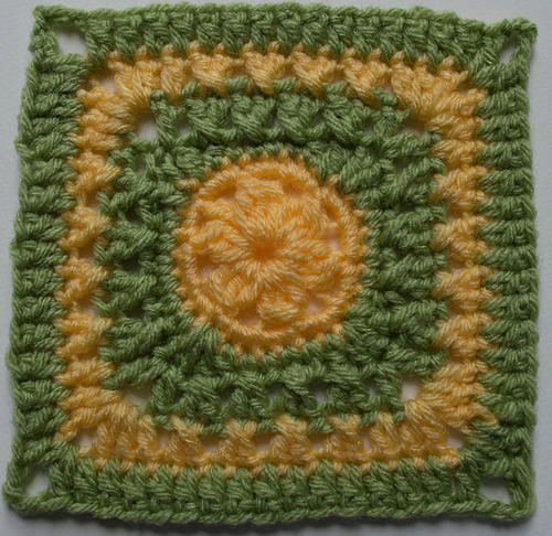 Katy Crochet Granny Square