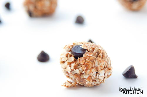 4-Ingredient Almond Butter Balls