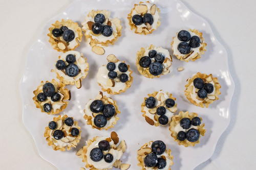 English Berry Tarts Appetizer Recipe