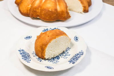 Old-Fashioned Angel Food Cake Recipe