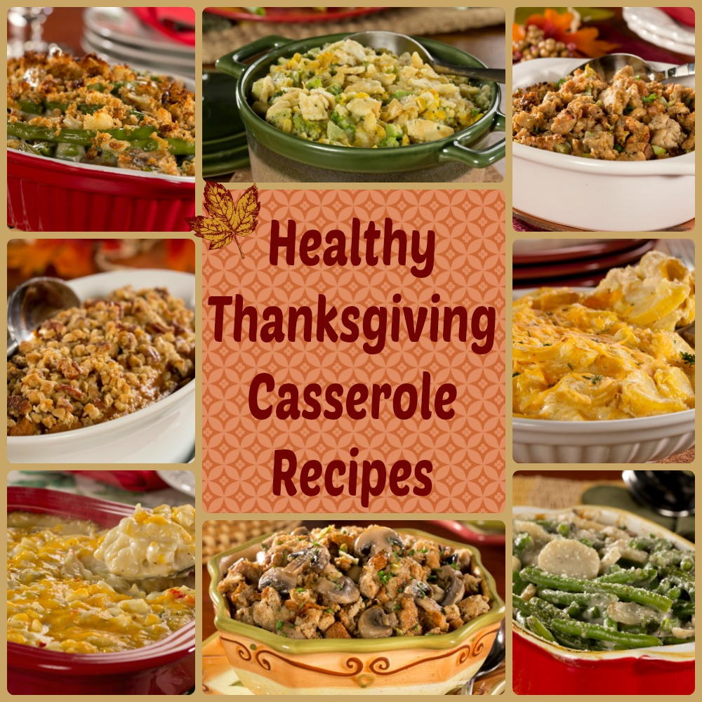 Thanksgiving Casserole Recipes: 9 Healthy Casserole