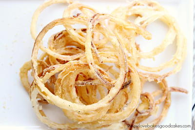 The Best Crispy Onion Rings