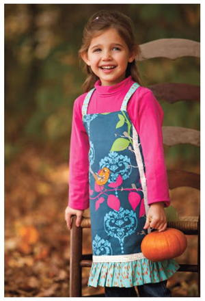 Little Birdie Girl's DIY Apron