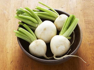 Parsley Buttered Turnips