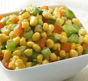 Corn and Peppers