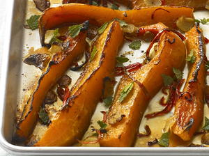 Roast Squash with Ginger