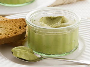 Avocado Mousse with Lime
