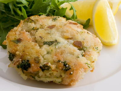 Smoked salmon potato cakes recipe