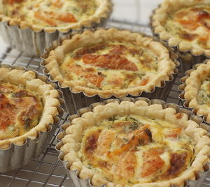Smoked Trout Tartlets