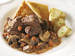 Beef Daube with Wild Mushrooms