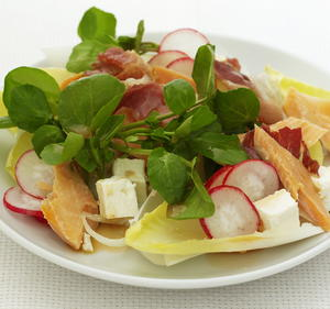Smoked Trout and Pancetta Salad