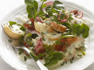 Lobster Salad with Watercress