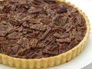 Pecan and Maple Tart
