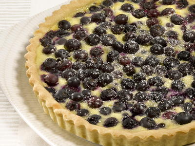 Blueberry Cream Cheese Tart