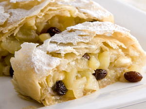 Viennese Apple Strudel