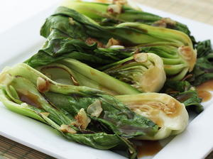 Bok Choy with Oyster Sauce