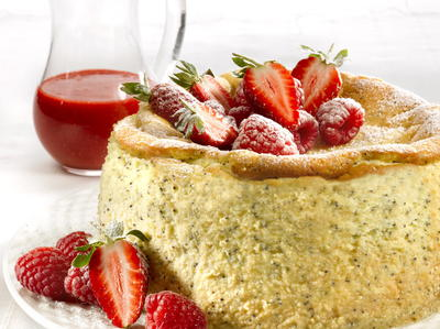 Lemon Poppy Seed Cheesecake