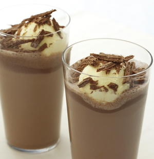 "Chocolate Milk Shake ""Float"""