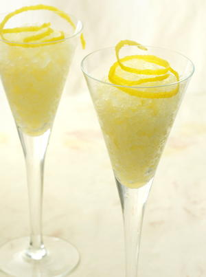 Zesty Lemon Granita