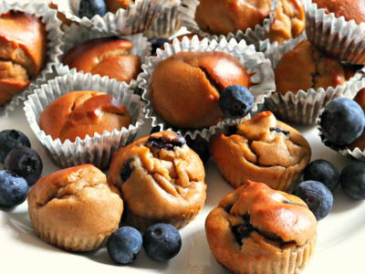 5-Minute Healthy Muffin Recipe
