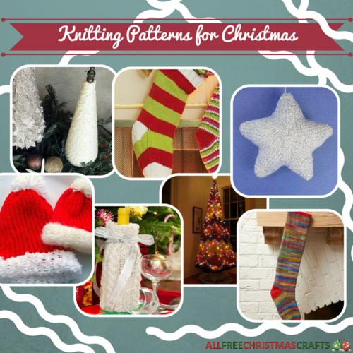 25 Knitting Patterns For Christmas Allfreechristmascrafts Com