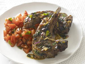 Lamb Chops with Chermoula