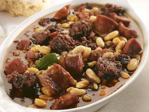 Spanish Bean and Pork Stew