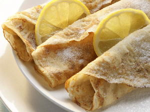 Lemon and Sugar Crepes