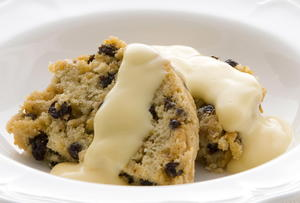Steamed Currant Pudding