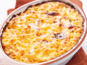 Baked Horseradish-Cheddar Macaroni and Cheese