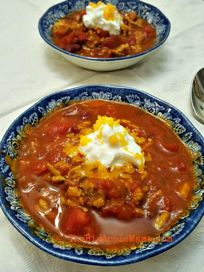 Dads Best Turkey Chili