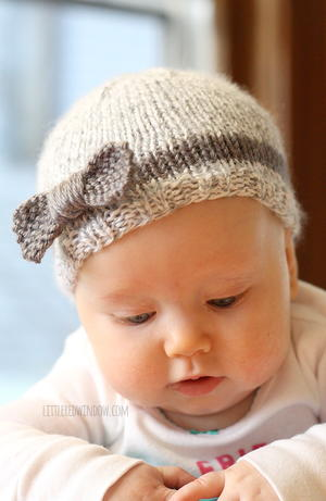 Bitty Bow Baby Hat Patterns