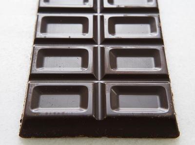 Chocolate Glazed Milk Chocolate Bars