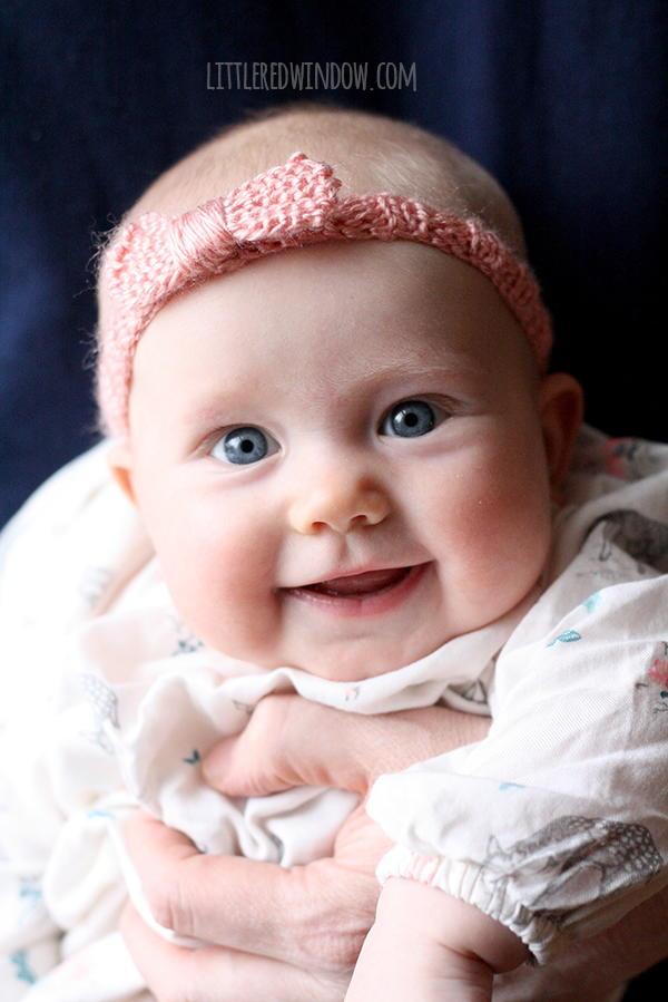 Bow Baby Knit Headband Favecrafts Com