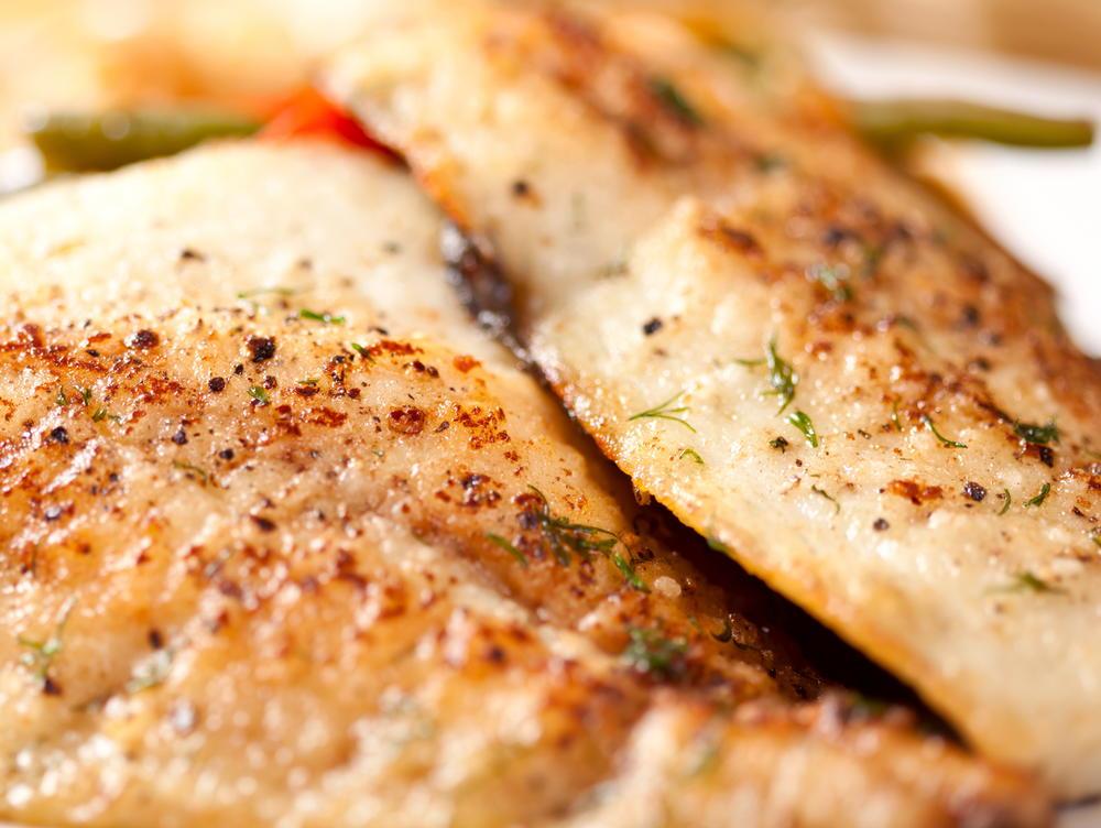 Striped bass with lemon zest for Lemon fish recipe