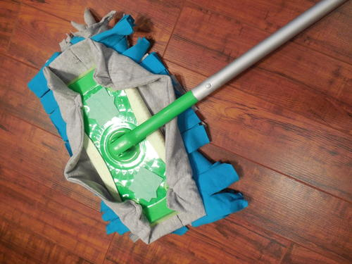 Quilter's Recycled and Reusable Mop Cover