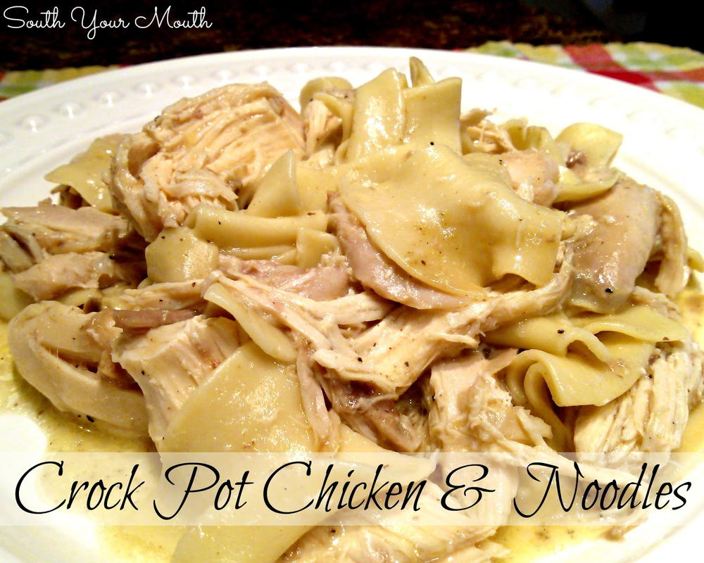 All Day Creamy Dreamy Chicken And Noodles