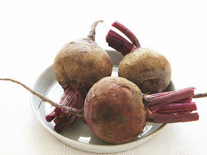 Roasted Beets with Fennel Oil