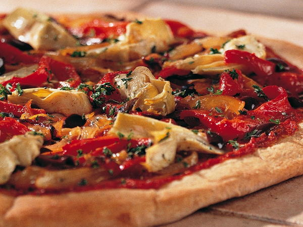 Cheeseless Pizza Recipe