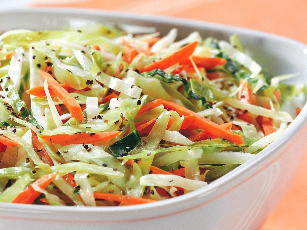 Cabbage and Carrot Slaw | Cookstr.com