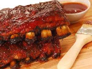 Zesty Barbecued Spareribs