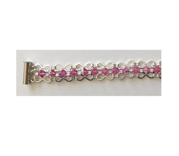 Crazy Eight Swarovski Bracelet