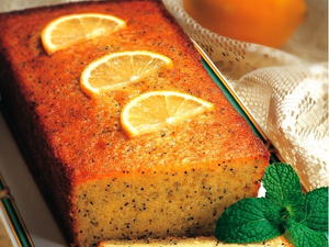 Lemon Poppy Seed Loaf
