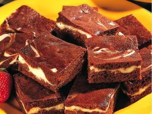 Cream Cheese-Filled Brownies