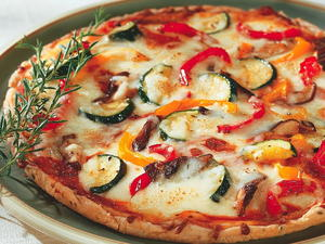 Roasted Vegetable Pizza Topping
